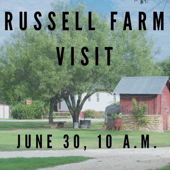 Russell Farm Visit