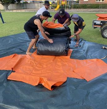 Whanau Fiesta 2020 - Put the bouncy castle away
