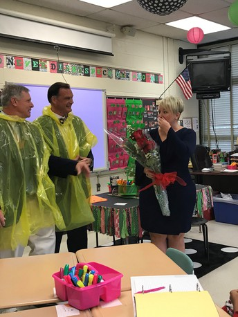 Havre de Grace High's Paige Milanoski Named a State Teacher of the Year Finalist!