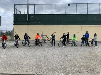 Medina Century Cycles Donates Bicycles to Claggett Middle School