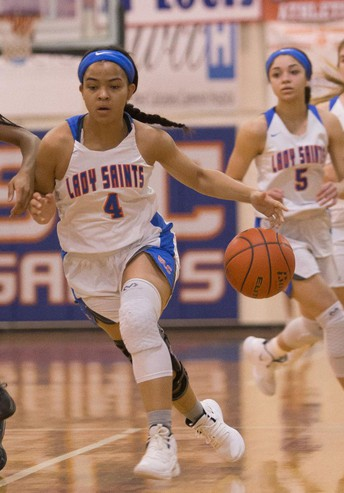 Postseason Honors Continue for Goodly, Lady Saints Basketball