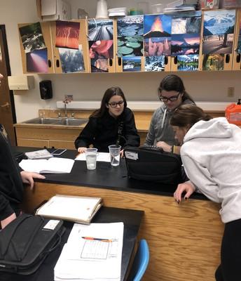 Collecting data using temperature sensors