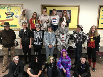 HALLOWEEN DRESS-UP DAY