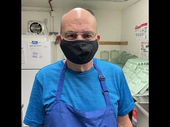 Mr. Johnston, Food Service Worker