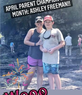 April Parent of the Month
