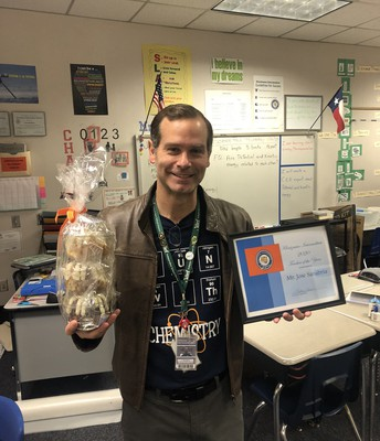 2019 - 2020 Klentzman Teacher of the Year