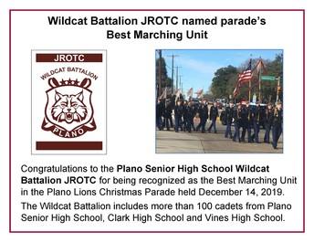 Congrats to the JROTC Program!