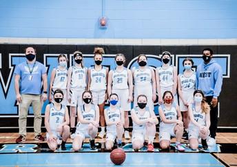 2020-21 Girls Basketball Team