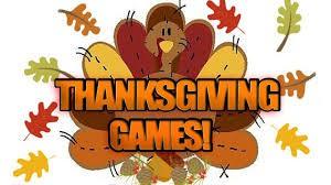 Turkey Games--Tues 11/20