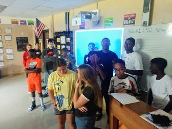 8th grade Arts Alive