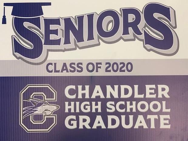 CHS Yard Sign