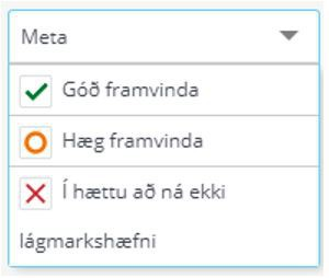 Stöðumat verður í lok janúar eða í byrjun febrúar 2021