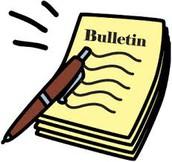 Bulletin scolaire (1ière à 6e) et relevé des apprentissages (mat\jardin)