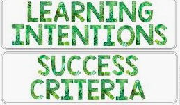Daily Learning Intentions..What, Why and How are essential to know if a student got it!!