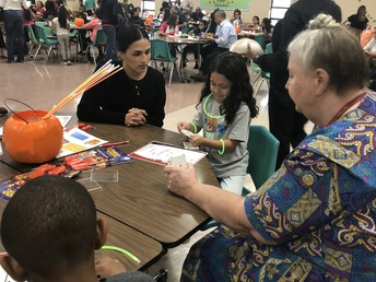 PTC Night Celebrates Math and New Leadership!