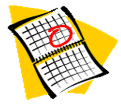New PCR Calendar