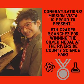 Congratulations R. Sanchez!