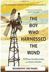 The Boy who Harnessed the Wind (Young Reader's edition) by William Kamkwamba