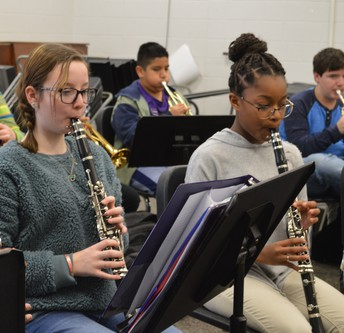 6th Grade Band Class