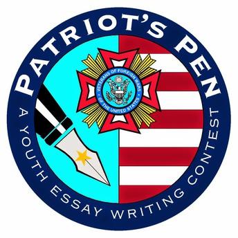 2018 VFW Patriot's Pen Contest Winners