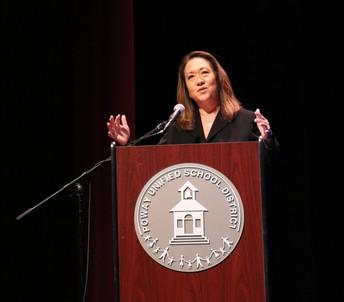 Superintendent Marian Kim Phelps
