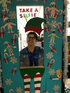 Elfie Selfie - 3rd Place