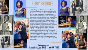 Ruby Bridges - Former child Civil Rights Activist