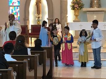 Fr. Thumma helps us celebrate our Saints