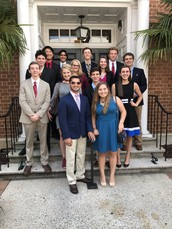 Gators of the Week: Law Center Students View Sentencing Hearing at Circuit Court