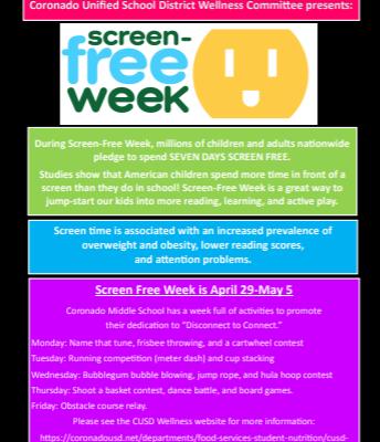 Screen Free Week!