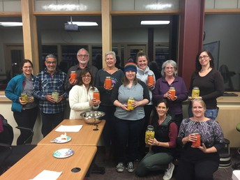 Fermented vegetables and Sauerkraut classes at Bozeman Public Library
