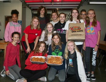 Westside Middle School Helps United Way