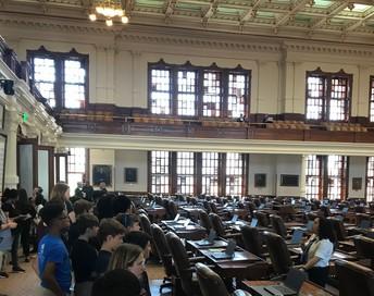 State Capital Senate Chamber