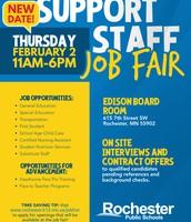 Work in Rochester Public Schools!