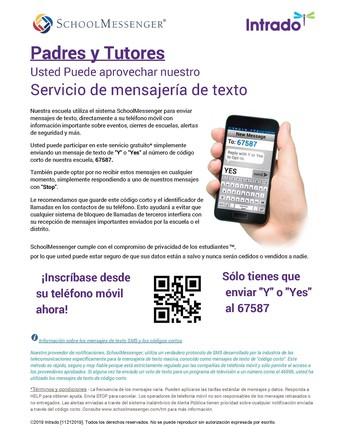 Mensajes de texto y SMS Servicio de Mensajeria
