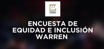 la Encuesta de equidad e inclusion de Warren
