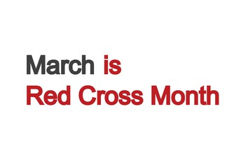 Red Cross Month