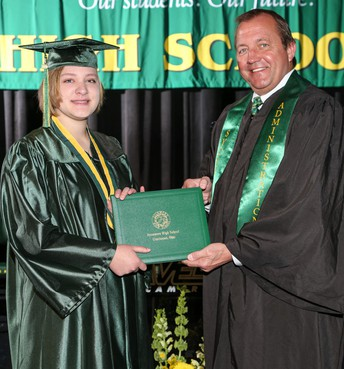One-By-One Diploma Receptions