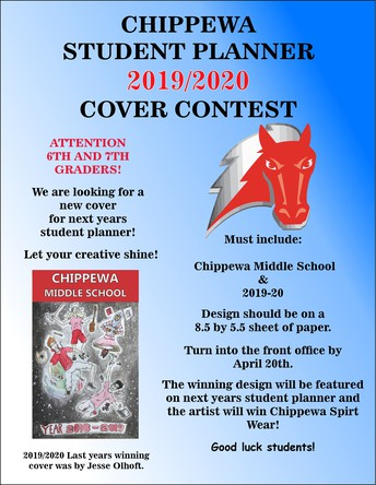 Cover Contest for the 2019/2020 Student Planner!