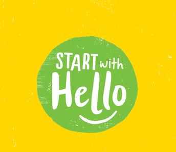 Start with Hello