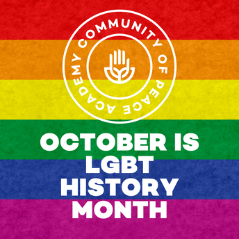 October is LGBT History Month. CPA Logo.