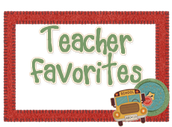 Teacher Favorites List & Birthdays!
