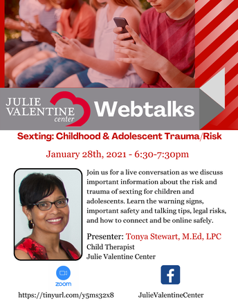Internet Safety Event  - from the Julie Valentine Center