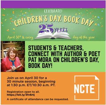 2021 Children's Day, Book Day-APRIL 30TH