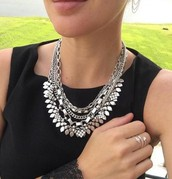 Silver Sutton Necklace (worn 5 ways!)