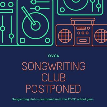 Songwriting Club: POSTPONED
