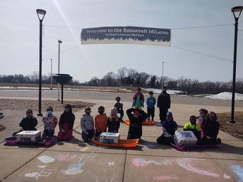 Tradition continues as Roosevelt students learn about teamwork, history in Iditaroo