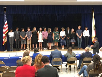 Eighth Grade Speech Team Competes