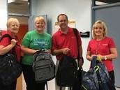 Boulder Dam Credit Union Backpack Donation