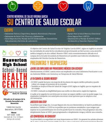 Su Centro de Salud Escolar